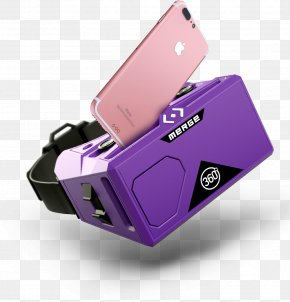 GOGGLES - Virtual Reality Headset Augmented Reality Goggles Glasses PNG