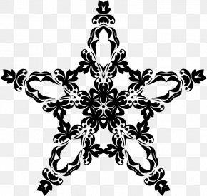 Ornamental - Black And White Visual Arts Ornament PNG