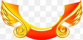 Yellow Metal Wings Stratified - National Emblem Art PNG