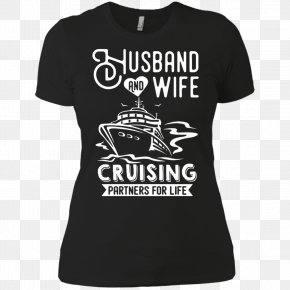 T-shirt - T-shirt Hoodie Neckline Wife PNG