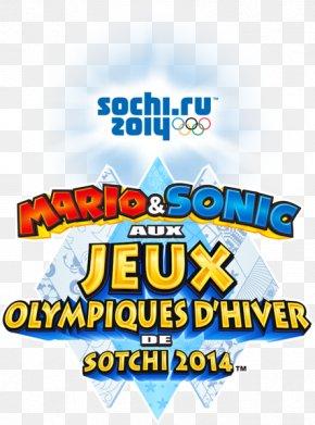 U - 2014 Winter Olympics Mario & Sonic At The Olympic Winter Games Wii U Sochi Logo PNG