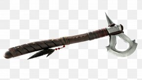 Axe - Assassin's Creed III Tomahawk Axe Hatchet Native American Weaponry PNG