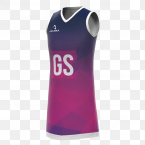 Netball - Clothing T-shirt Dress Sleeveless Shirt PNG