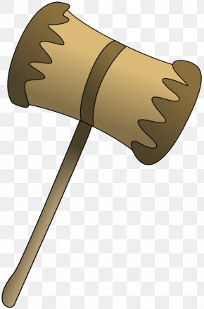 Cartoon Hammers - Mallet Gavel Hammer Clip Art PNG