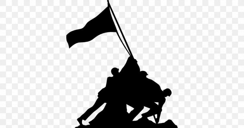 Marine Corps War Memorial Battle Of Iwo Jima Raising The Flag On Iwo Jima USS Arizona Memorial Mount Suribachi, PNG, 1200x630px, Marine Corps War Memorial, Battle Of Iwo Jima, Black, Black And White, Fictional Character Download Free