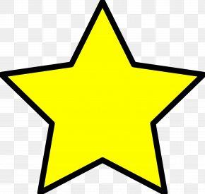 Star Clip Art - Yellow Star Clip Art PNG