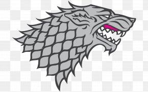 Sand Monster - House Stark Winter Is Coming Logo Daenerys Targaryen Sigil PNG