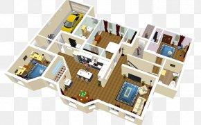 Sweet Home 3D - Sweet Home 3D House Floor Plan PNG