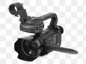 Camera,black - Video Camera Canon Camcorder Camera Lens PNG