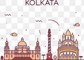 Calcutta Vector - Kolkata Stock Illustration Skyline Illustration PNG
