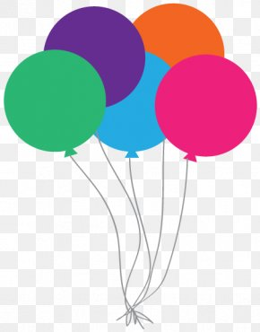 Balloon String Cliparts - Happy Birthday To You Free Content Clip Art PNG