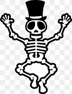 Skeleton - Human Skeleton Bone Clip Art PNG