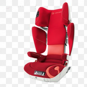 Red Safety Seat - Concord Car Child Safety Seat Transformer Head Restraint PNG
