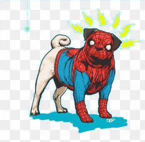 Spiderman Puppy - Marvel Heroes 2016 Spider-Man Dog Hulk Thor PNG