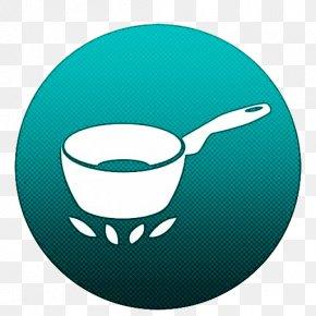 Drinkware Kitchen Utensil - Tableware Spoon Turquoise Cup Cutlery PNG