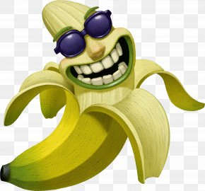HD Funny Funny Expression Bananas - Fruit Clip Art PNG
