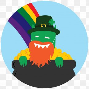 Saint Patrick's Day - Saint Patrick's Day Tiny Little Monster Parade Holiday PNG