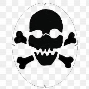 Bat Skeleton Stencil - Skull And Crossbones Vector Graphics Human Skull Symbolism PNG