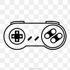 Ultra - Super Nintendo Entertainment System Coloring Book Joystick Drawing Game Controllers PNG