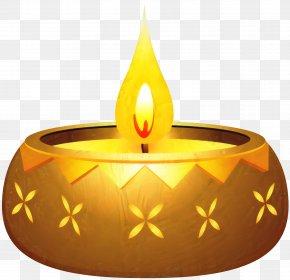 Diwali Diya Clip Art Image PNG