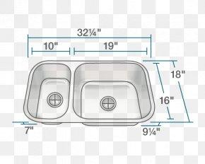 Stainless Steel Kitchen Utensils - Kitchen Sink Bowl Stainless Steel Countertop PNG