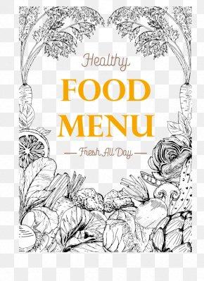 Healthy Food Menu - Organic Food Diet Menu Vegetable PNG