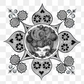 Simple Black And White Queen Illustrator - Black And White Photography Art Illustration PNG