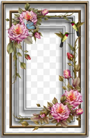 Frame - Paper Wedding Invitation Picture Frames Decoupage Flower PNG