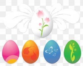 Easter Eggs - Easter Bunny Resurrection Of Jesus Easter Egg Wish PNG