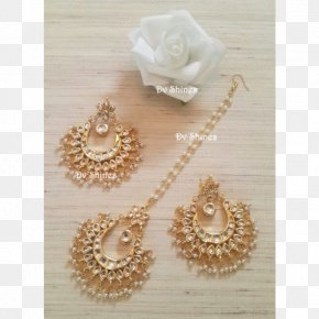 Jewellery - Pearl Earring Kundan Jewellery Costume Jewelry PNG