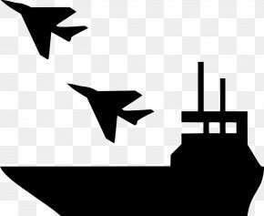 Airplane - Airplane Aircraft Carrier Ship Clip Art PNG