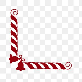 Free Candy Cane Border - Candy Cane Santa Claus Christmas Stick Candy Clip Art PNG