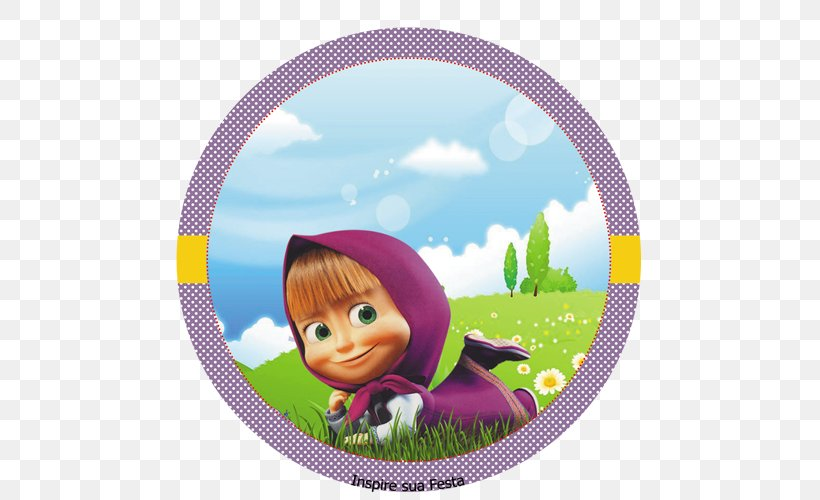 Masha And The Bear Party Birthday Png 500x500px Masha And