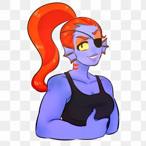 Undyne - Homo Sapiens Legendary Creature Human Behavior Clip Art PNG