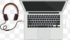 Vector Computer Headphones Plug - MacBook Pro 15.4 Inch Laptop MacBook Air PNG