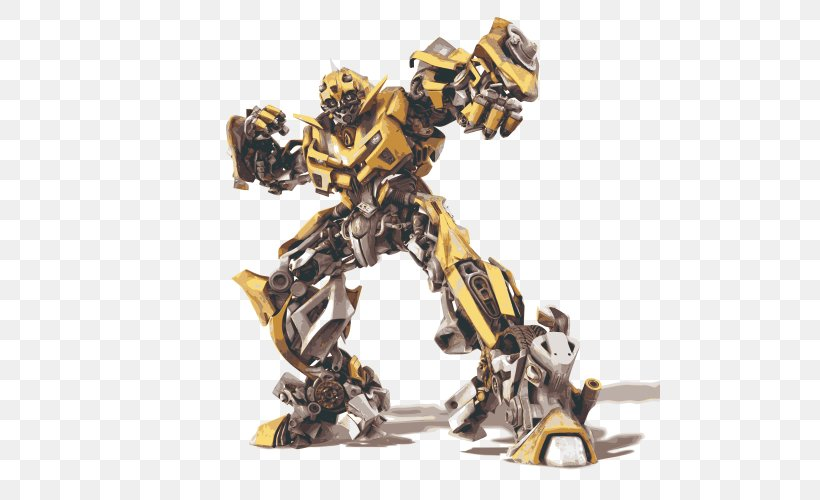 Bumblebee Optimus Prime Brains Transformers: The Ride 3D, PNG, 500x500px, Bumblebee, Autobot, Brains, Figurine, Film Download Free