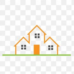 Orange Real Estate Logo - Logo Real Estate House Building PNG