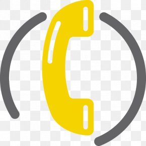 Yellow Telephone Cliparts - Mobile Phones Telephone Clip Art PNG