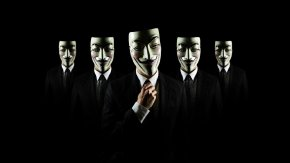 Anonymous Mask - Anonymous Hacker Cyberattack Computer Security PNG