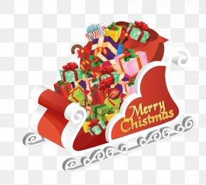 Santa Claus Car Vector - Christmas And Holiday Season Theme Party Wallpaper PNG