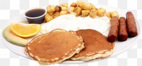 Breakfast - Pancake Full Breakfast Waffle Cuisine Of The United States PNG