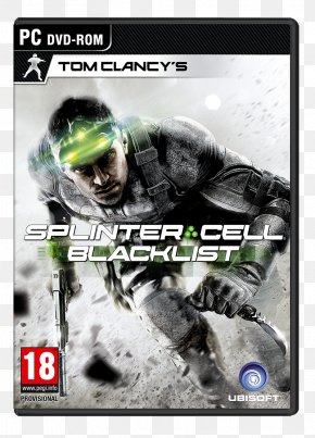Tom Clancy's Splinter Cell Blacklist - Tom Clancy's Splinter Cell: Blacklist Tom Clancy's Splinter Cell: Pandora Tomorrow Tom Clancy's The Division Xbox 360 PNG