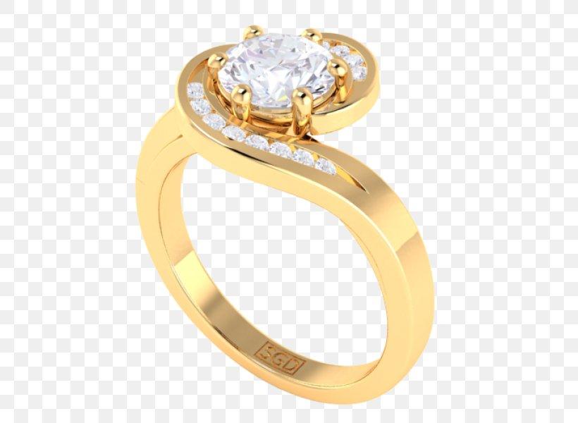 Engagement Ring Brilliant Diamond Cut