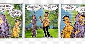 Balik Kampung - Comics Cartoon Character Fiction PNG