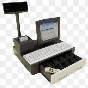 White Keyboard Cash Register - Computer Keyboard Cash Register 3D Modeling 3D Computer Graphics PNG