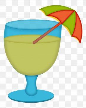 Kitchen Element - Wine Glass Cocktail Garnish Clip Art PNG