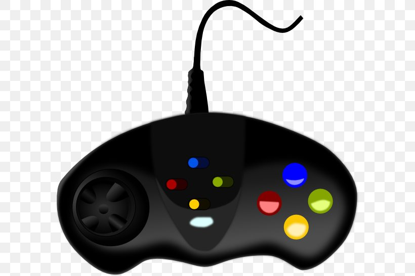 Black Game Controller Video Game Wii Clip Art, PNG, 600x546px, Playstation 4, All Xbox Accessory, Clip Art, Computer Component, Electronic Device Download Free