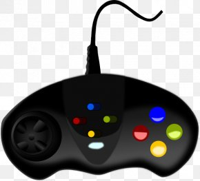 Console Cliparts - Black Game Controller Video Game Wii Clip Art PNG