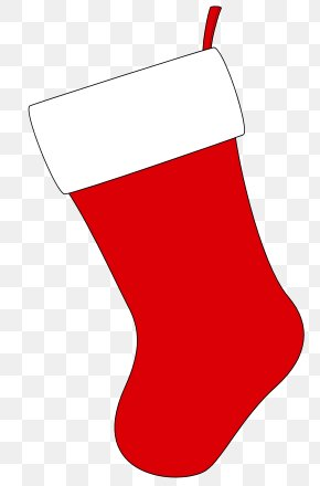 Free Xmas Clipart - Christmas Stocking Red Shoe Area PNG