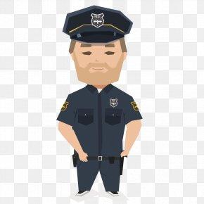 Police Professionals - Police Officer Police Car Uniform PNG